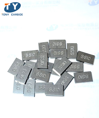 Tungsten Carbide SS10 Tips For Cutting Stone